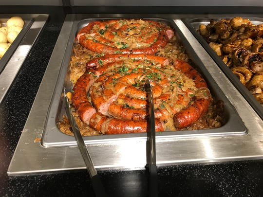 Prepared foods at the new Gourmanoff store in Paramus.