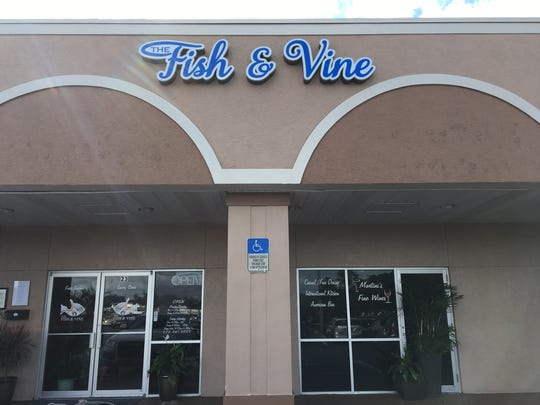 The Fish & Vine opened in April 2016 in south Fort Myers.