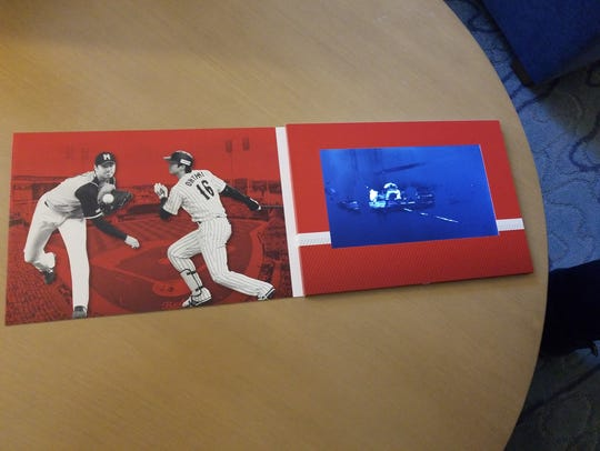 The video book the Cincinnati Reds sent to Japanese