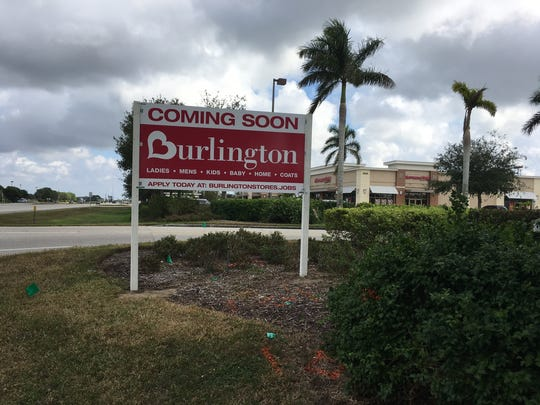 A Burlington is coming into Coral Walk shopping center in a space vacated by Sports Authority more than a year ago.