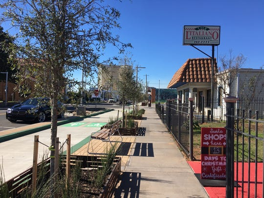 The City of Bossier City renovated Barksdale Boulevard
