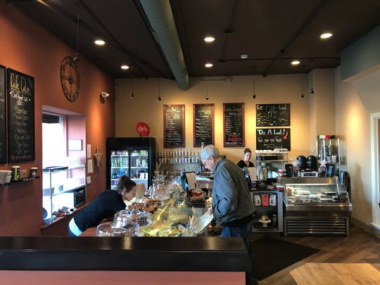 One goal for Cafe 1505's future is to offer even more artisan products in its deli.