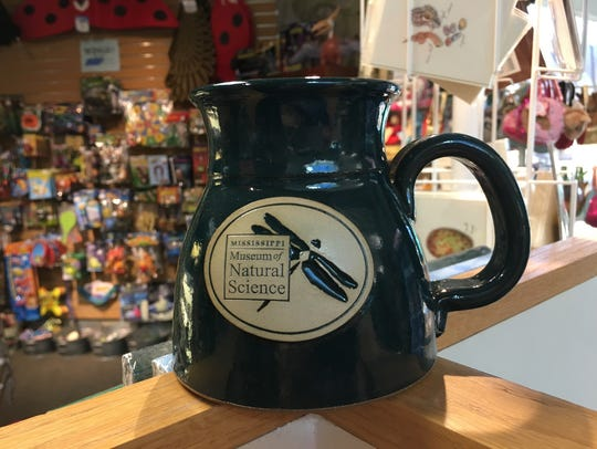 A mug from the Mississippi Museum of Natural Science