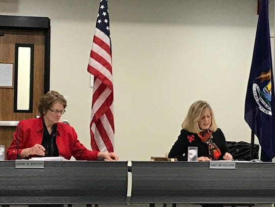 From left, State Personnel Director Jan Winters and