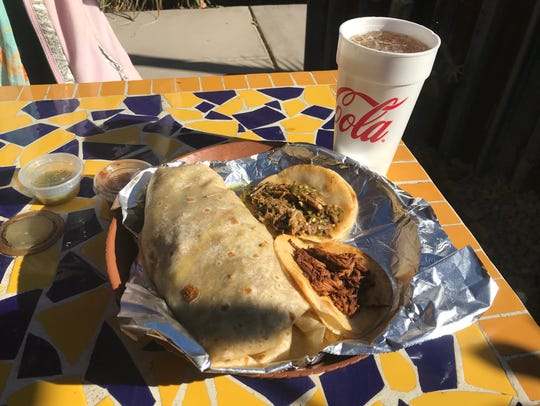 Street tacos, massive burritos and other Mexican favorites