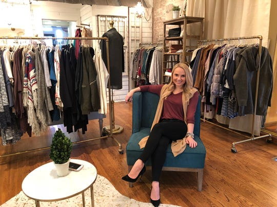 With the help of friends and family, Aubree Parker got her boutique up and running in about 30 days.