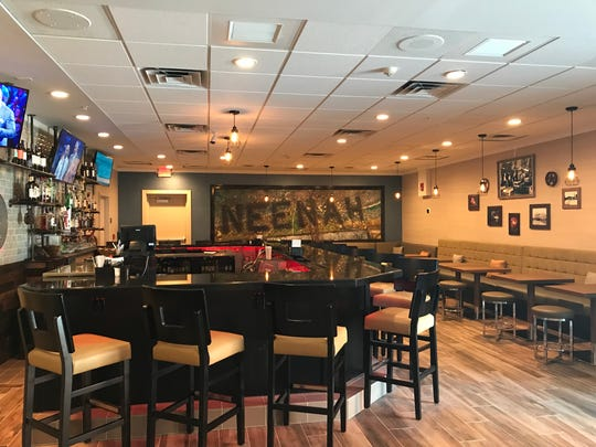 The lounge portion of LevelOne Restaurant & Lounge
