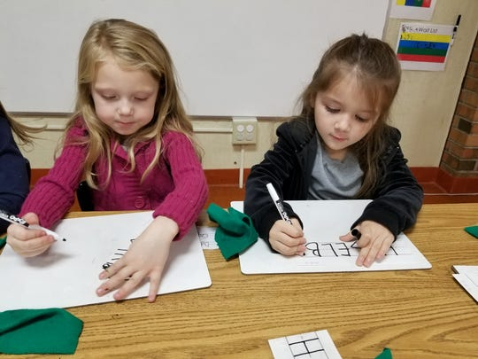 The Early Learning Center works to build up the skills