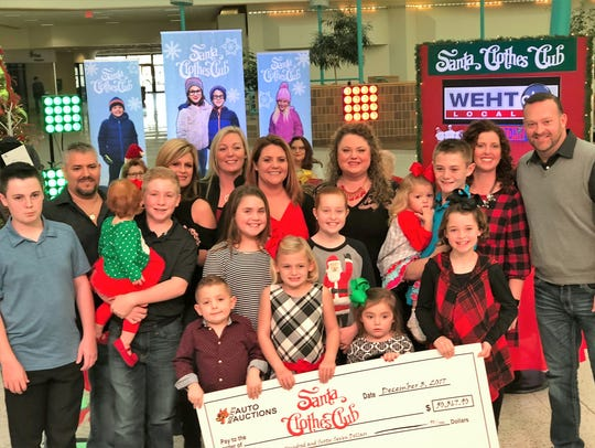 Santa Clothes Club - The Wolfe's Auto Auctions family