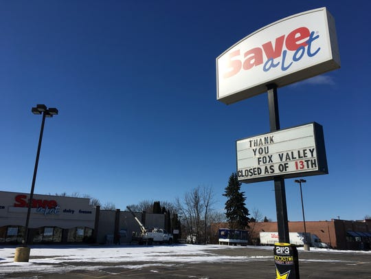 Save-A-Lot closed in Little Chute.