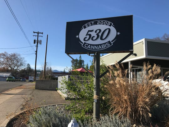530 Cannabis, formerly 530 Collective, in Shasta Lake is one of the first businesses in California to receive a state license to sell recreational marijuana.