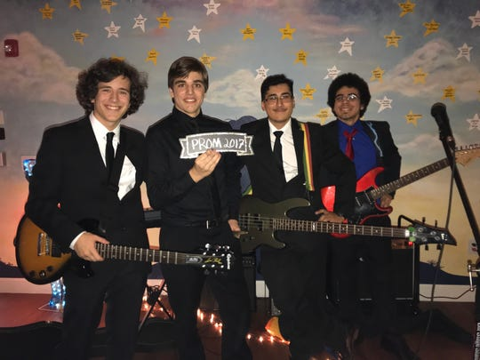 "Nick Bryan, a Lighthouse Transition student, formed a band called Theory of Knowledge, which played at ""Night with the Stars"" prom for the blind and the visually impaired."