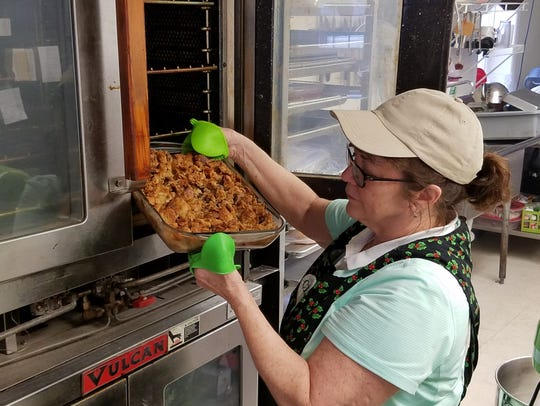 Jeannie Kellams is co-owner and baker at Cleo's Bakery