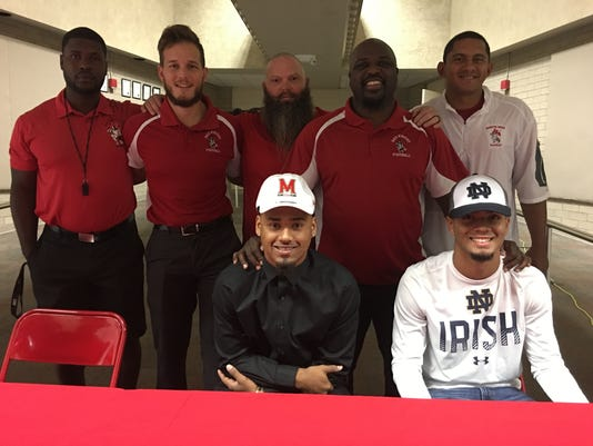 North Fort Myers football 2017 signing day