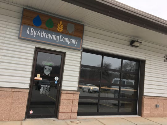 Located in Galloway near the entrance to Sequiota Park, 4 By 4 Brewing Company, photographed Dec. 20, 2017, expects to open by the end of the year.