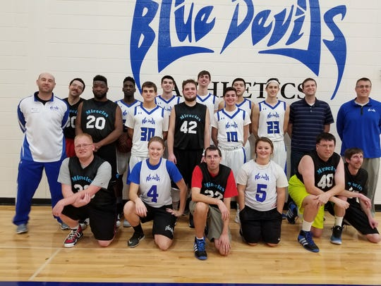 The Manitowoc County Miracles/Badgers Special Olympics