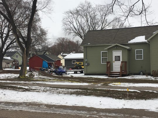 Police responded Tuesday evening to a home invasion