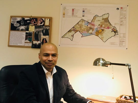 Parsippany Mayor-elect Michael Soriano in his transition office on Dec. 22, 2017.