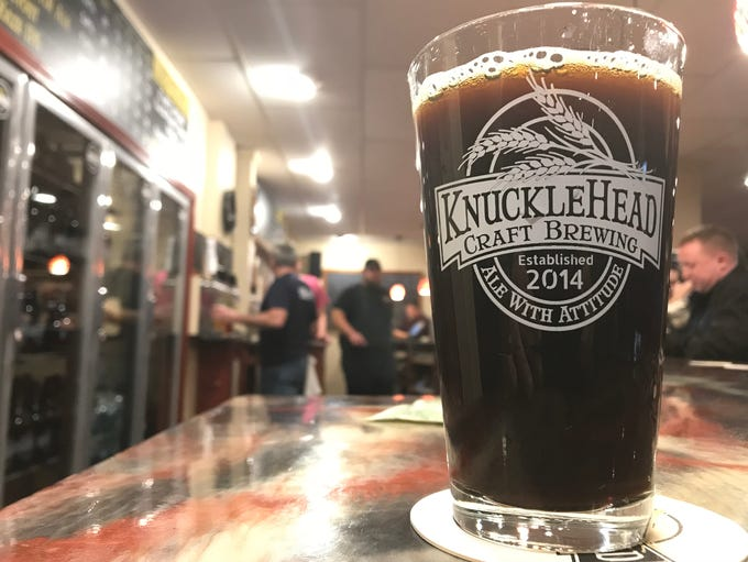 Knucklehead's coconut porter