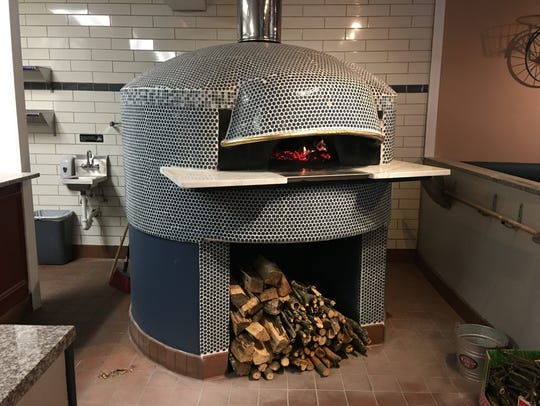 The wood-burning oven at Circolo in Waldwich
