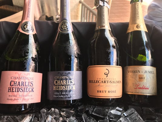 Bottles of bubbly