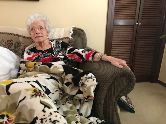 Vesta Norman, 83, got home to Powell for a Christmas Day visit thanks to AMR ambulance.