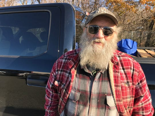 William Drew was forced out of his home in the Morse Lakes community in Bloomingdale.