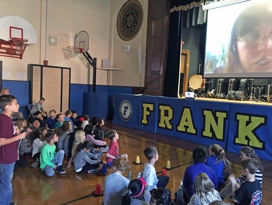 Nathan DeBole, third grader at Franklin Elementary
