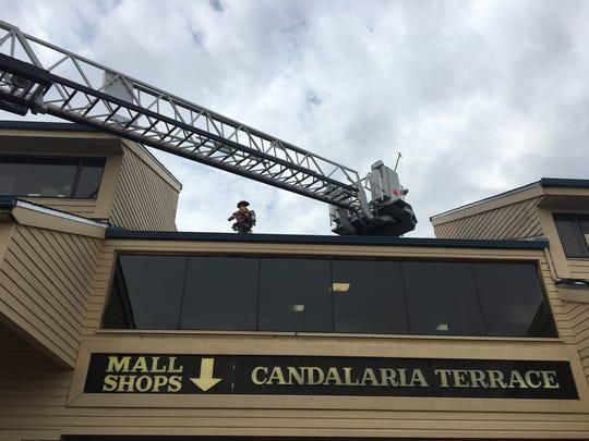 Fourteen Salem Fire officials responded to Salon Redd