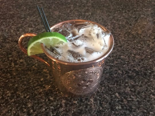 A Harvest Mule at Black Button Distilling in Rochester,