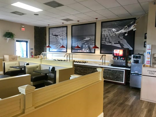 City Subs' salad bar has more than 40 items and is lined with photos of old Cape Coral.