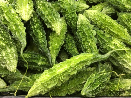 Bitter melon, or karela in India, is sold at both Patel Brothers and Mr. Chen's in Jackson. In both Indian and Chinese cultures, the melon is said to have medicinal properties, namely for regulating diabetes mellitus.