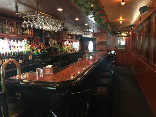 The bar area at Kurt's is where Kurt Sr. eventually assumed a front-of-house role.