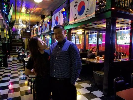 Sarah and Joe Kim opened Gangnam Korean Cuisine less