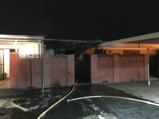 Phoenix firefighters responded to a condo fire near