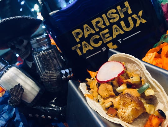 Parish Taceaux offers vegetarian and vegan-friendly