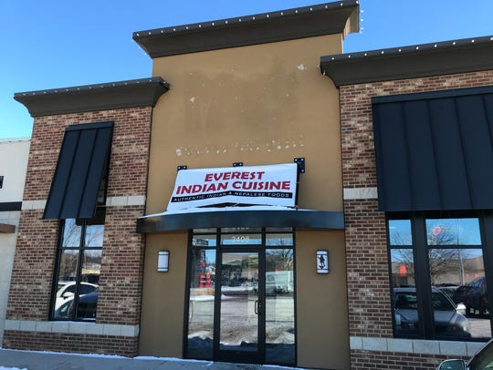 Everest Indian Cuisine opened in December in a strip