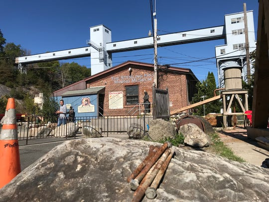 The Sterling Hill Mining Museum in Ogdenburg, as seen on Oct. 17, 2017, operates in and around one of the world's most famous zinc mines.