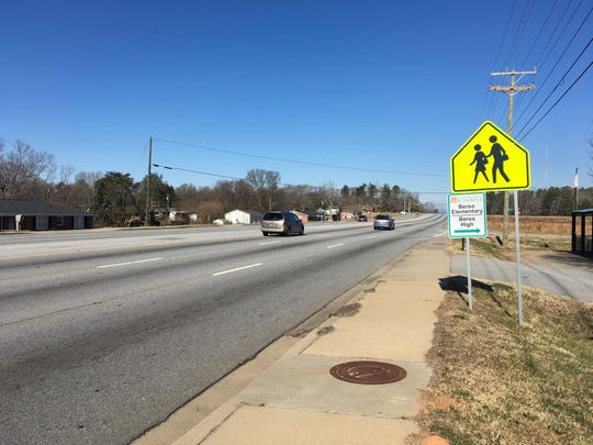 Berea residents want  a crosswalk on White Horse Road