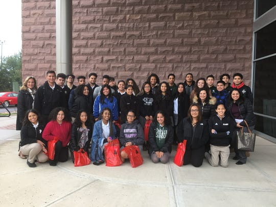Tri-County Scholarship Fund students tour Rutgers.
