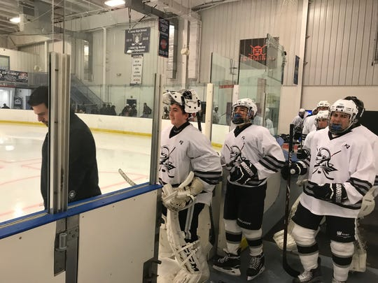 Goaltender Luke Horbatuk leads the Wayne hockey team