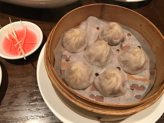 Shanghai soup dumplings at Lee Chen in Toronto