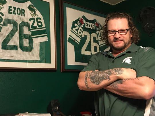 Former Michigan State running back Blake Ezor said