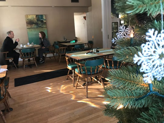 The inside of Vittles & Vine offers a full service bar and multiple dining rooms that can provide a quaint atmosphere or a private party space.