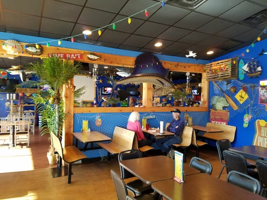 Owner Angie Melvin drew inspiration from restaurants in Florida and the Caribbean when creating Catfish Willy's.