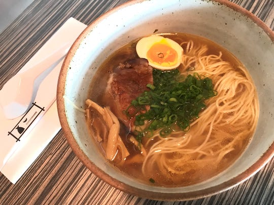 Shio ramen at Moon Rabbit Ramen, a lunchtime-only pop-up inside Ukiyo, 4907 N. College Ave., Indianapolis.