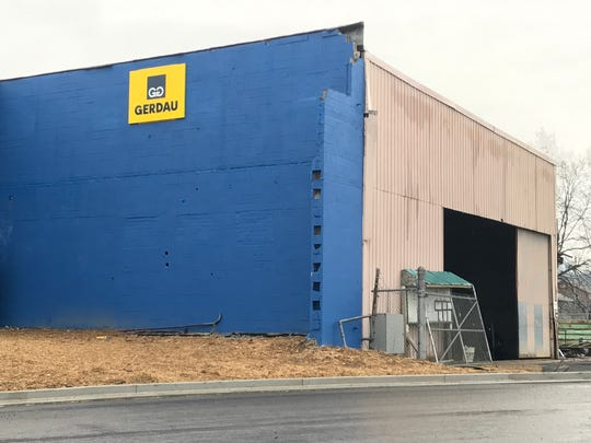 Part of the Gerdau rebar mill complex off Western Avenue, sold Dec. 29 to Commercial Metals Co.
