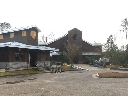 The roofs at the Salvation Army have been replaced since the Jan. 21, 2017, tornado, but restoration to the buildings' interiors has been delayed.