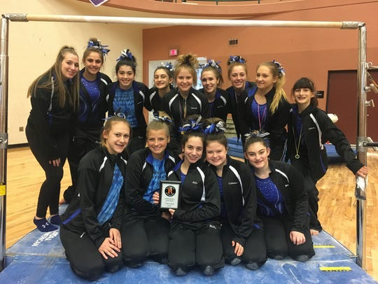 Farmington United's talented gym team placed second