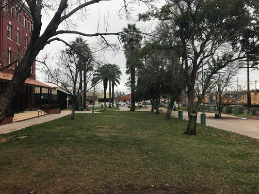 The Park in downtown Redding